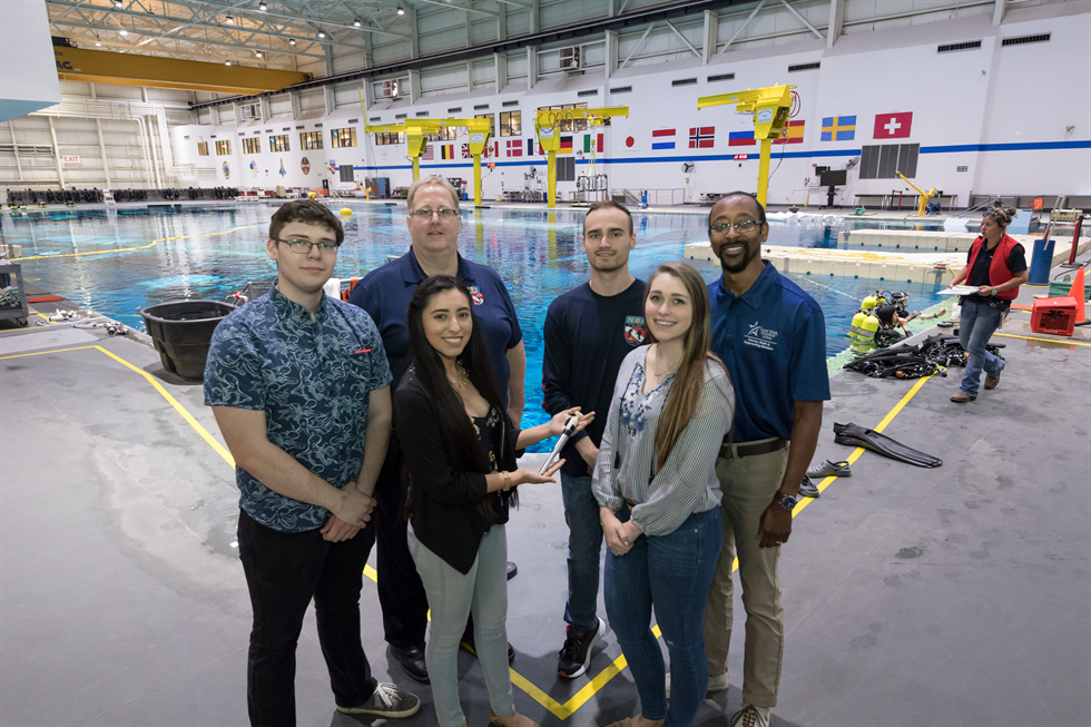 A student team from Lone Star College-Cy Fair designed a new spacewalk tool that will be used next year in space.