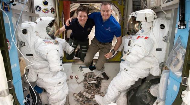 Three Times the Charm—Three Spacewalks Coming Up