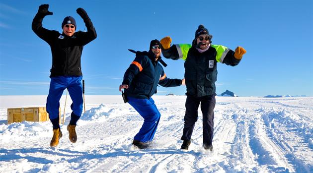 Clowning Around Lightens the Load: NASA Studies Team Dynamics in Antarctica