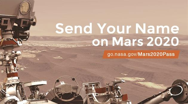 Your Name … on Mars!