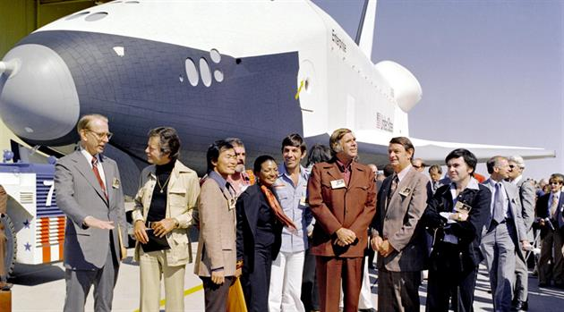 Fifty Years of NASA and 'Star Trek' Connections