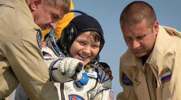 NASA Astronaut Anne McClain, Crewmates are Back on Earth