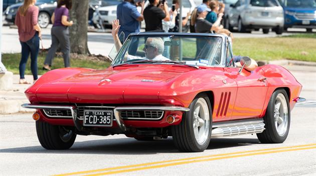 Relive the Apollo 50th Car Parade at JSC