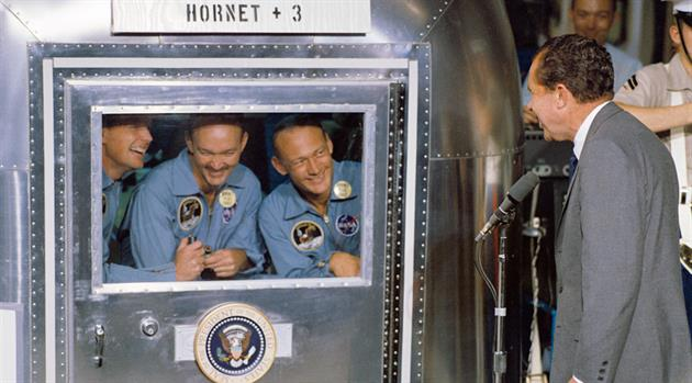 Fifty Years Ago: Apollo 11 and Hornet + 3