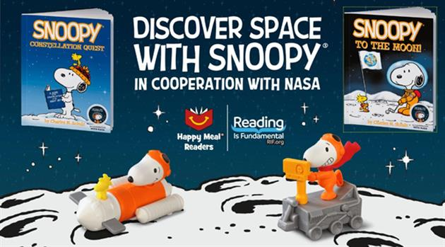 Discover Space with Snoopy and Peanuts Worldwide!