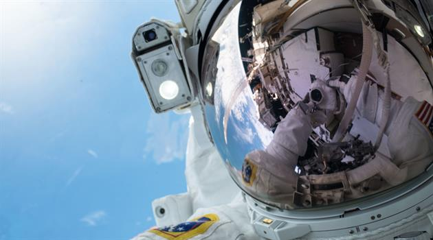 "Relive Sunday""s Epic Spacewalk"