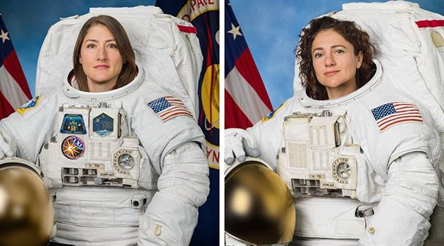 UPDATES:  All-Female Spacewalk