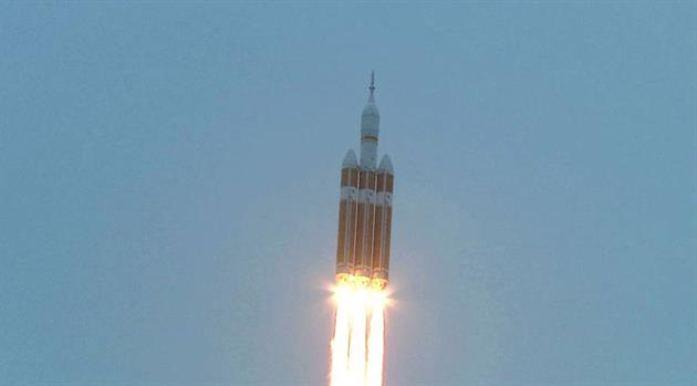 Just Five Years Ago! Orion Flies its First Mission