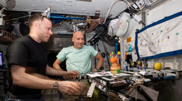 ISS20th: Celebrating Birthdays on Station
