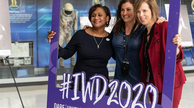 Peep the Gallery: #IWD2020