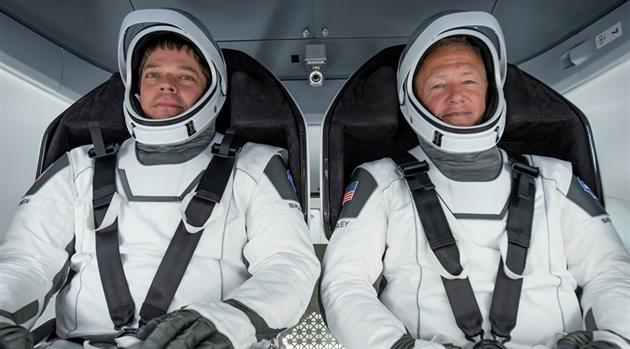 Meet the Two — the Crew of DM-2