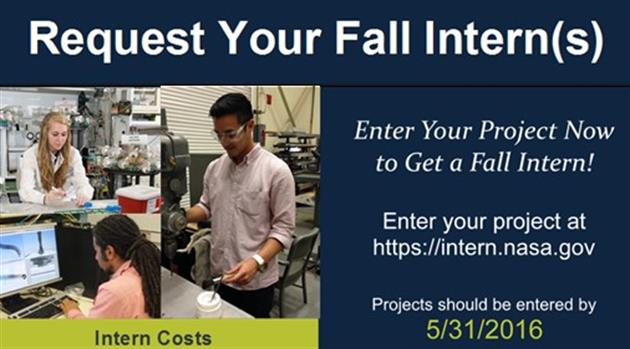 Need an intern for the fall?