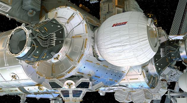 NASA to attach, test first expandable habitat on space station