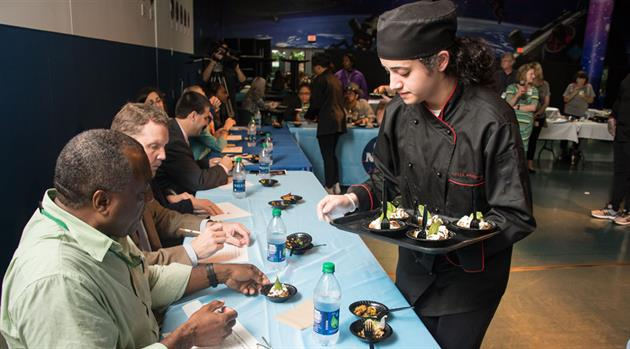 Students create winning dish for space station