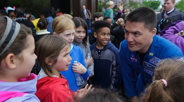 TV program featuring astronaut Kjell Lindgren wins multiple awards