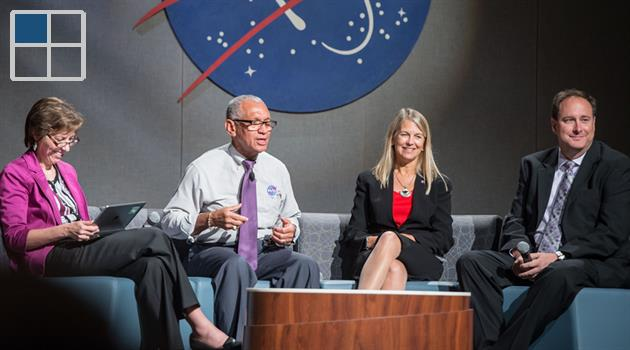 NASA Administrator Charles Bolden brings message of hope and pride to JSC
