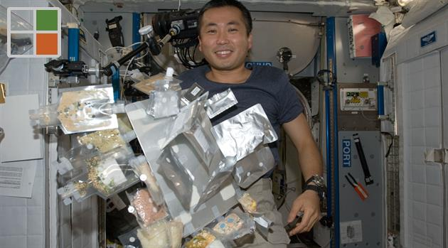Crowdsourced app plots food and health for space station astronauts