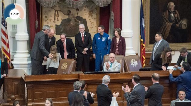 Space Day 2017 at the State Capitol