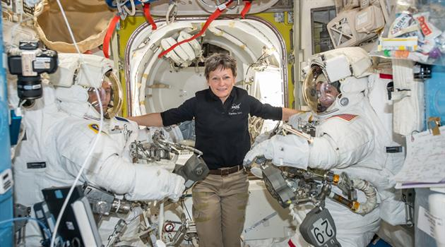 NASA astronaut Peggy Whitson adds three months to record-breaking mission