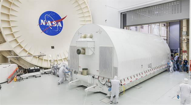 James Webb Space Telescope arrives at NASA's Johnson Space Center