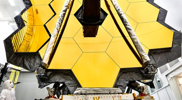 James Webb Space Telescope primary mirror prepared for testing