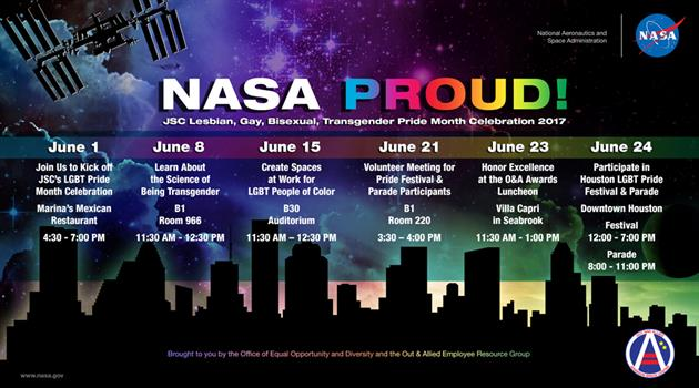 NASA proud! Pride Month 2017