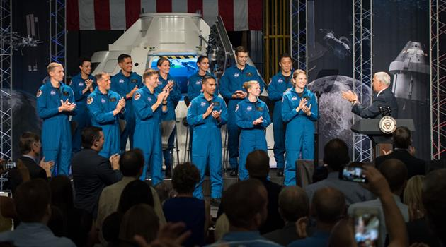 NASA's newest astronaut recruits introduced to the world at Johnson Space Center