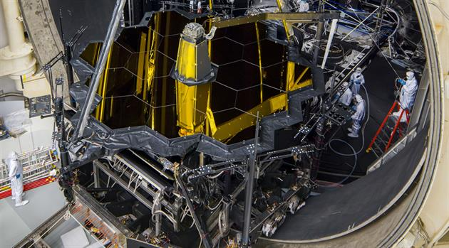 "NASA""s Webb Telescope gets freezing summertime lodging in Houston"