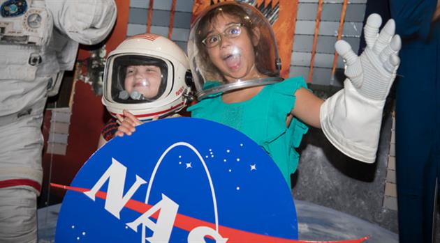 Bring Our Children to Work Day entertains kids with space and STEM