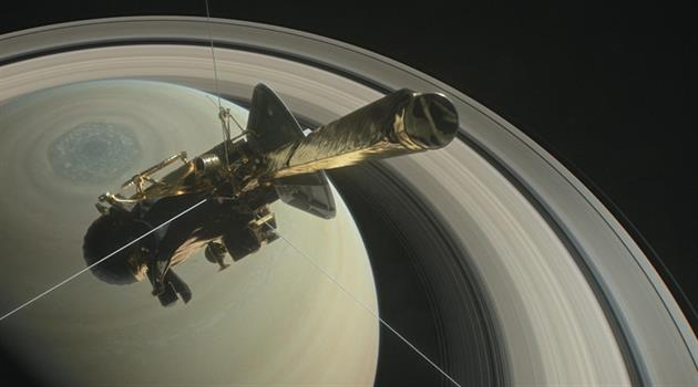 Cassini takes the plunge Sept. 15 in a final approach to Saturn
