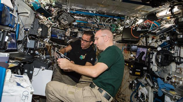 California students speak with NASA astronauts on space station