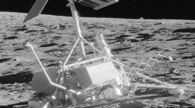 The Surveyors—precursors to human boot prints on the Moon