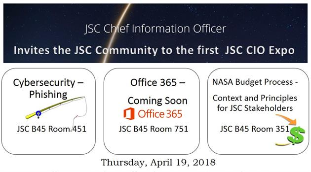 First JSC CIO Expo is April 19