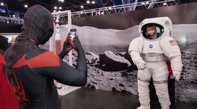 NASA a perfect fit for the geekiest of gatherings—Comicpalooza