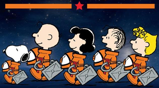 NASA and Peanuts: Collaborating again, but this time for deep space