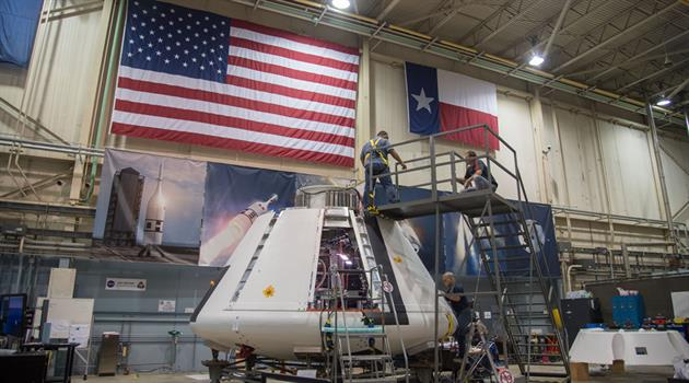Johnson team completes Orion Ascent Abort-2 capsule outfitting