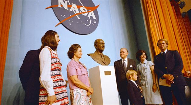 Forty-five years ago: JSC's formal dedication