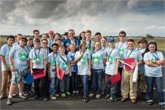 Texas 4-H students blast off at Johnson Space Center