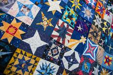 Well-traveled star quilt brings crafters together—and will leave you feeling warm and fuzzy
