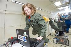 Reduced-gravity program kicks off summer with undergraduate experiments