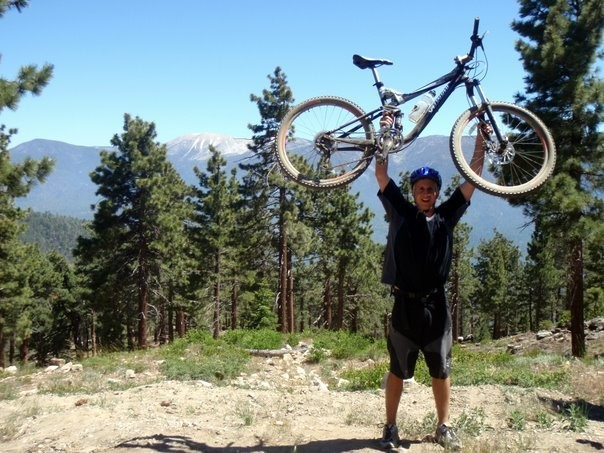 Mountain biking near Big Bear Lake, CA. Image Credit: Jared Daum.