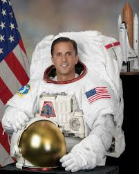 NASA astronaut Joe Acaba was a teacher prior to joining NASA. He partnered with Arnold to complete the lessons. Credit: NASA