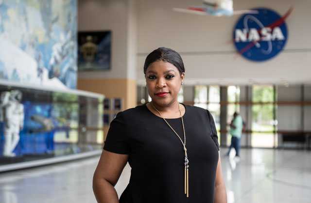 CAHC Monica Foley, who is also the assistant to the center director for Management and Integration. Image Credit: NASA/Allison Bills
